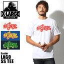 【楽天スーパーセール!】【DM便(旧メール便)可】 XLARGE X-LARGE エクストララージ Tシャツ ラーゴ ショートスリーブ Tシャツ M16B110...
