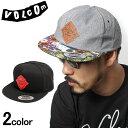 ヴォルコム ボルコム VOLCOM ジャンボリー 6 パネル ハット 全2色JAMBOREE 6 PANEL HAT D5511520キャップ 帽子 平行帽 ストリート カジュアル ワーク ロゴ 刺繍 メンズ(男性用) 兼 レディース(女性用)