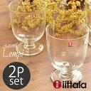 イッタラ レンピ タンブラー 340ml ペア 2個セット クリア(iittala LEMPI TUMBLER 0.34L CLEAR)ガラス 食器 グラス カ...