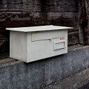 ポスト ホワイト【ポスト】【メールボックス】【新居に!】【レトロ】の写真