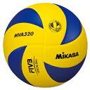 【一般・大学・高校用】ミカサ(MIKASA)バレーボール 練習球5号[MVA320]