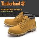 ティンバーランド (TIMBERLAND) ブーツ AF ヘリテージ チャッカ ウィートヌバック(23061 AF HERITAGE CHUKKA)ショート ミッドカット シューズ ウォータープルーフ 天然皮革 靴メンズ