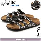 ����̵�� �ѥԥꥪ BY �ӥ륱��ȥå� PAPILLIO BY BIRKENSTOCK �ե��� FLORIDA ����� DD ���å����ƥ����ե����֥�å� ���� 322393 ������� ����ե����� ��ǥ�����(������)
