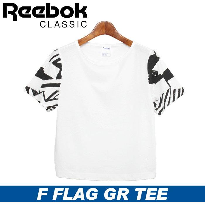 リーボック フラッグ Tシャツ レディース