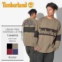 【メール便可】 TIMBERLAND ティンバーランド 長袖Tシャツ 全4色 リニアツリー オーバーサイズ 長袖Tシャツ LINEAR TREE OVERSIZE L/S TEE A1MBW 1 37 988 J38 メンズ