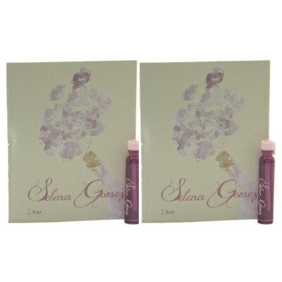 セレーナ ゴメス オードパルファン お試しチューブサンプル 2個セット 2x2ml【Selena Gomez Eau De Parfum EDP Vial 2x2ml 】