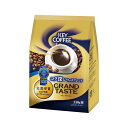 (まとめ)キーコーヒー グランドテイストコク深いリッチブレンド 330g(粉)1袋【×10セット】