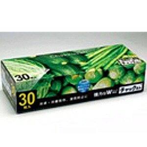 ケミカルジャパン チャックさん 冷凍保存袋 大サイズ 30枚 (1217-0207)