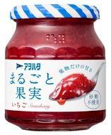 [アヲハタ]アヲハタ まるごと果実 いちご 255g/ジャム/砂糖不使用/アオハタ
