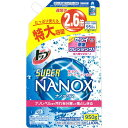 ライオン トップ スーパーNANOX(ナノックス) 詰替え用 特大容量 950g