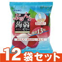 [オリヒロ]ぷるんと蒟蒻ゼリーパウチ ライチ 20g×6個入【12袋セット】/コンニャク/デザート/おやつ/遠足/お弁当