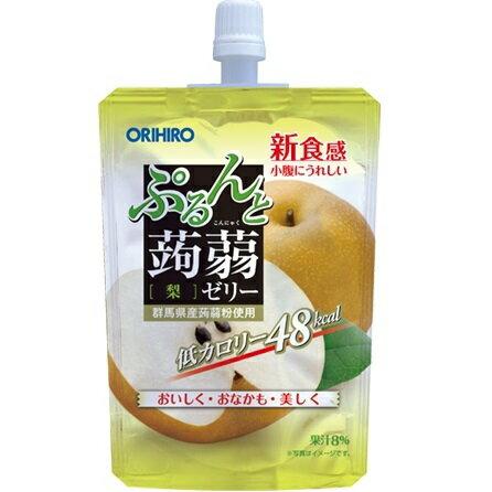 [オリヒロ]ぷるんと蒟蒻ゼリースタンディング 梨 130g/コンニャク/デザート/小腹