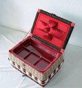 昔懐かしい手作りの丈夫な裁縫箱【北海道・沖縄は送料540円】