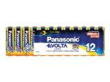 パナソニック エボルタ 単三乾電池 12個パック LR6EJ/12SW