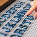レターボード用文字パーツ アルファベット 191ピース (ネイビー) 66753 【 文字パーツ 英語 数字 パーツ 記号 青 ブルー カラー レターボード メニューボード シンプル ポップ サインボード アメリカン おしゃれ ショップ ホテル 】