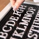 レターボード用文字パーツ アルファベット 191ピース (グレー) 66754 【 文字パーツ 英語 数字 パーツ 記号 カラー レターボード メニューボード シンプル ポップ サインボード アメリカン おしゃれ ショップ ホテル 】