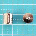【業務用50個セット 1個あたり25円(税別)】アクセサリー 金具 カツラ [銀色, 外径 10mm