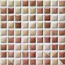 モザイクタイル コスミオン COS-1511 名古屋モザイク15角紙貼り 1シート(18×18個)