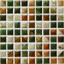 モザイクタイル コスミオン COS-27 名古屋モザイク15角紙貼り 1シート(18×18個)