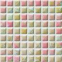 モザイクタイル コスミオン COS-216 名古屋モザイク15角紙貼り 1シート(18×18個)