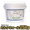 【送料無料】漆喰塗料 カルクウォール 0.5mm 25kg ...