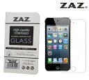 ZAZ iPod touch 5/6 (第5世代 、 第6世代)共通 対応 ガラスフィルム  硬度9H 厚さ0.26mm 強化ガラス ラウンドエッジ加工  飛散...