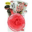 サンベルム キッチンスポンジ めちゃ泡食器クリーナー レッド K57705
