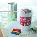 手作りキャンドルキット 手作りキャンドル用材料 パラフィンワックス・色粉・芯のセット
