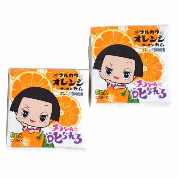 チコちゃんお菓子8粒チコちゃんガム18個入お菓子駄菓子おやつ丸川製菓オレンジガムフーセンガムガム子供