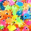 出目金魚すくい100個入り 景品 玩具 おもちゃ 縁日 お祭り でめきん かわいい すくい 水 プール カラフル 魚 きんぎょ おもしろ雑貨 ザッカ ビンゴ景品 バザー