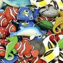 クマノミとお友達50個入り 魚 おさかな すくい 夏祭り お祭り おもちゃ 玩具 かわいい 海の生き物 ぷかぷか おもしろ雑貨 ザッカ ビン..