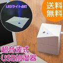 【送料無料】パーソナル加湿器 キューブタイプ// 超音波式 小型 卓上 デスク 携帯 旅行用 乾燥対策 USB電源