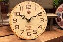 アンティーク風置き時計 オールドルック テーブルクロックチョコレート(CHOCOLATE) シャビー ナチュラル 雑貨