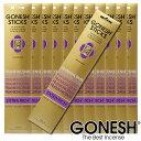 GONESH ガーネッシュ お香 スティック Frankincense フランクインセンス 12パックセット(計240本)【ガーネッシュ(GONESH)】