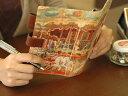 人気のHIRAMEKIシリーズから、オシャレな手帳ケース。【 HIRAMEKI 】 アートヌメレザーシステム手帳(バイブルサイズ)