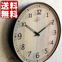 【ポイント10倍】電波時計 【送料無料】【INTERFORM インターフォルム】 LAUMIERE ロミエール CL-8329 掛時計 掛け時計 壁掛け 壁掛け時計 時計 おしゃれ クラシック レトロ ナチュラル 木目