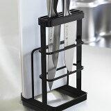 【よりどり3点対象商品】【tower】CUTTING BOARD & KNIFE STAND カッティングボード & ナイフスタンド まな板立て / 包丁立て / 台所用品 / キッチン用品 / 収納
