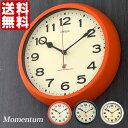 【ポイント10倍】電波時計 モーメンタム Momentum 掛け時計 W-636 掛時計 壁掛け お祝い プレゼント アンティーク 北欧 雑貨 壁掛け時計 時計 おしゃれ 掛け時計 人気 デザイン インテリア レトロ ノア精密 10P27May16