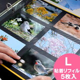☆☆【粘着L】 DELFONICS デルフォニクス PDフォトアルバム / リフィル/手作り/写真/ 替台紙 粘着 L