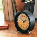 置き時計 ノア精密 アナログ電波テーブルクロック 電波時計 T-733 MAG 置時計 テーブルクロック 卓上 デスク ブラック グレー 電波 ア..