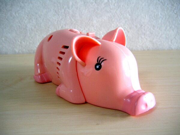 Funny. sundry stationery - ハンディーミニ cleaner - (piggy)