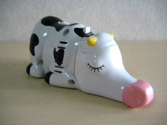Funny! gadgets   ミニクリーナー   desktop cleaner-vacuum cleaner-handheld cleaner ( bovine )