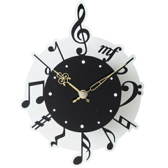 Wall clock | Fashion | Note | Wall hangings clock (silhouette plus) note ≪ second party | Present | Birthday party | Bingo | Premium≫