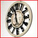 オールドルック ウォールクロック エッフェルB 時計 壁掛け おしゃれ アメリカン雑貨 アンティーク雑貨