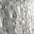 【送料無料】送料込み キラキラ ビーズカーテン ビーズのれん おしゃれ ロング 180cm カーテン 間仕切り ビーズカーテン(BC0694) ティアドロップ クリアー
