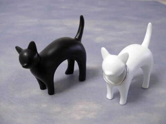 Fashion gadgets falling cat ring holder