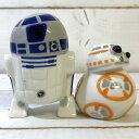 SPセット R2D2&BB-8 スターウォーズ グッズ star wars 調味料入れ 陶器 SPセット 塩 こしょう