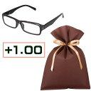 眼鏡, 墨鏡 - 老眼鏡ギフトセット(+1.00)READING GLASSES PURPLE 1.0【F】 老眼鏡 男性 女性 度数 1.0 おしゃれ リーディンググラス 父の日 母の日 敬老の日