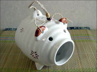 A mosquito-repellent incense case of a basic pig! 爛漫 lid mosquito selling, toy fireworks