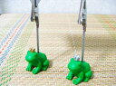 The prince of a playful frog! Memo clip crown frog [easy ギフ _ packing] of the frog